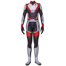 Load image into Gallery viewer, Avengers Endgame Quantum Realm Cosplay Costume Superhero Captain America Captain Marvel Zentai Bodysuit Suit Jumpsuits