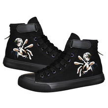 Load image into Gallery viewer, Anime One Piece High Top Canvas Sneakers Cosplay Shoes For Kids