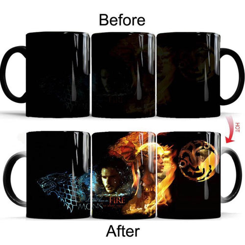 Game of Thrones  #2 Coffee Tea Cup Changing Color Mug