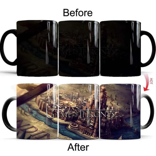Game of Thrones  #4 Coffee Tea Cup Changing Color Mug