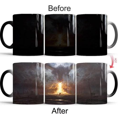 Game of Thrones #5 Coffee Tea Cup Changing Color Mug