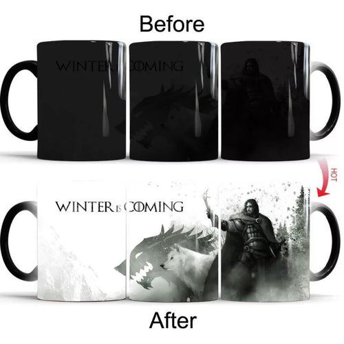 Game of Thrones #6 Coffee Tea Cup Changing Color Mug