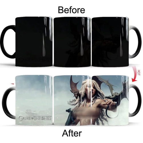Game of Thrones #7 Coffee Tea Cup Changing Color Mug
