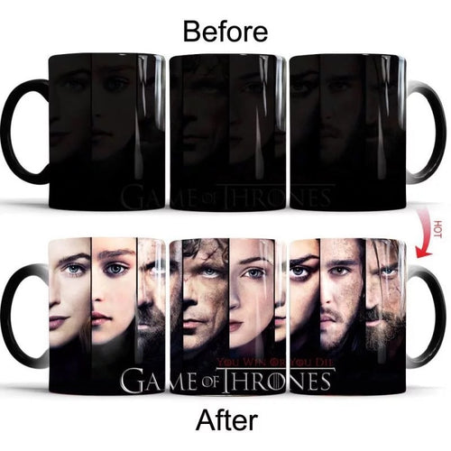 Game of Thrones #8 Coffee Tea Cup Changing Color Mug