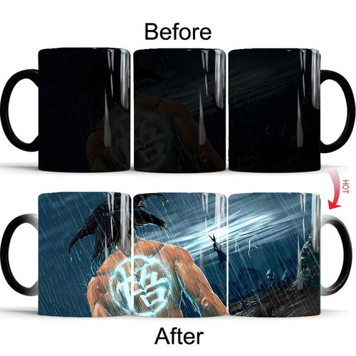 Dragon Ball #9 Coffee Tea Cup Changing Color Mug