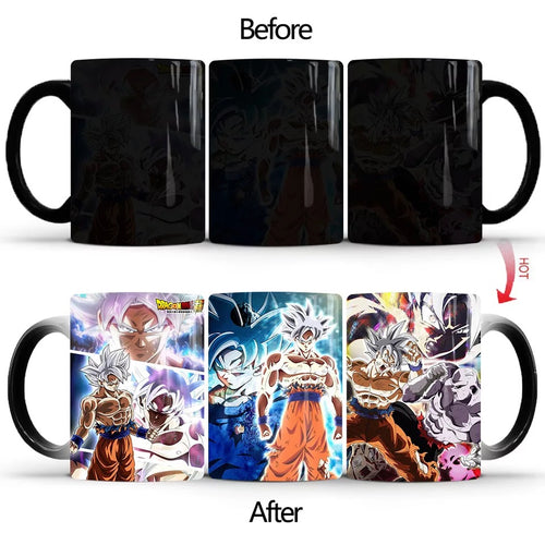 Dragon Ball #14 Coffee Tea Cup Changing Color Mug