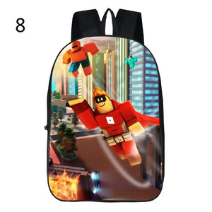 Game Roblox Backpack School Bag for Kids