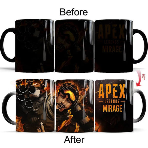 Apex Legend #1 Coffee Tea Cup Changing Color Mug Christmas Gift