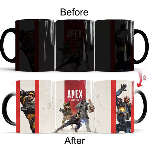 Apex Legend #3 Coffee Tea Cup Changing Color Mug Christmas Gift