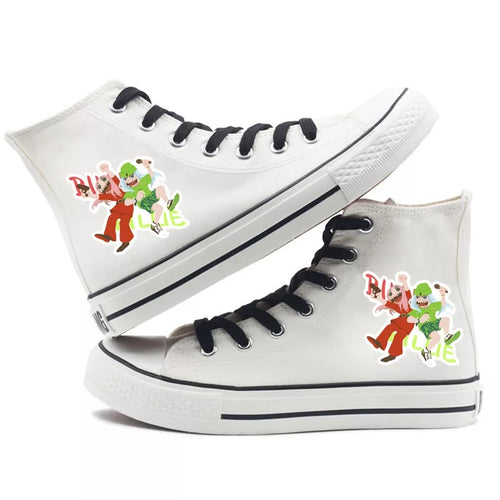 Billie Eilish Bellyache Classic Style #1 High Tops Casual Canvas Shoes Unisex Sneakers