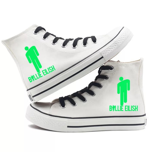 Billie Eilish Bellyache Classic Style #4 High Tops Casual Canvas Shoes Unisex Sneakers