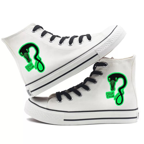 Billie Eilish Bellyache Classic Style #5 High Tops Casual Canvas Shoes Unisex Sneakers