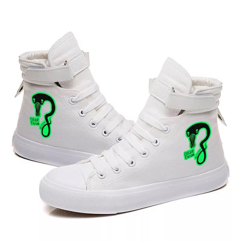 Billie Eilish Bellyache Classic Style  #1 Cosplay Shoes High Top Canvas Sneakers