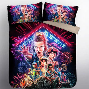 Stranger Things Eleven #20 Duvet Cover Quilt Cover Pillowcase Bedding Set Bed Linen Home Decor