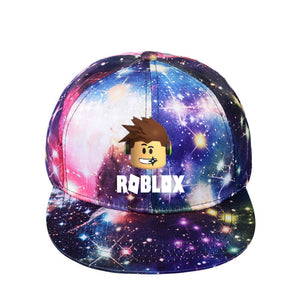 Game Roblox Printed Cap Casual Outdoor Baseball Hats