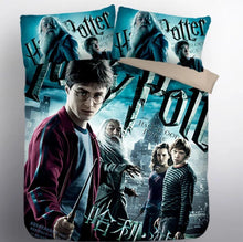 Load image into Gallery viewer, Harry Potter Hogwarts #8 Duvet Cover Quilt Cover Pillowcase Bedding Set Bed Linen Home Decor
