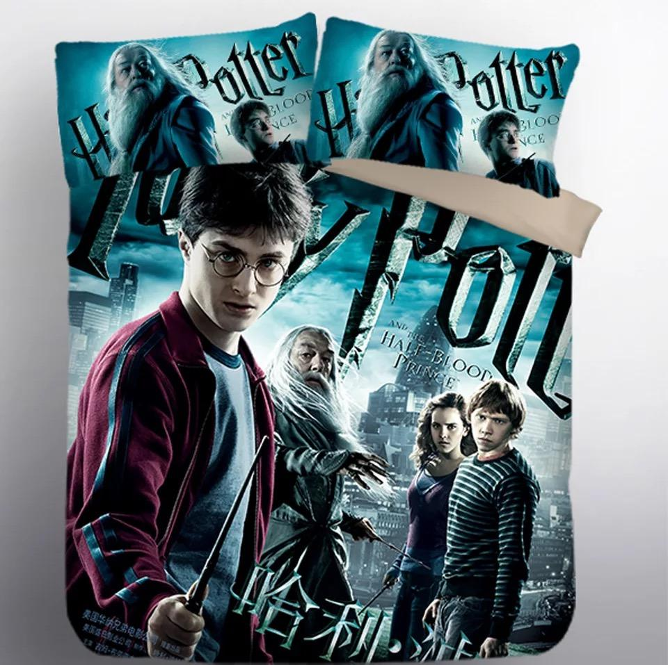 Harry Potter Hogwarts #8 Duvet Cover Quilt Cover Pillowcase Bedding Set Bed Linen Home Decor