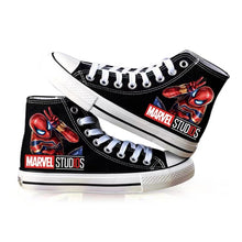 Load image into Gallery viewer, Spider-Man Far From Home High Top Canvas Sneakers Cosplay Shoes For Kids