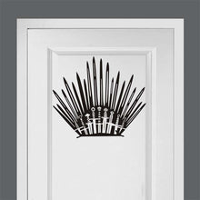 Load image into Gallery viewer, Game of Thrones Iron Throne Wall Decor Peel & Stick Poster Decals