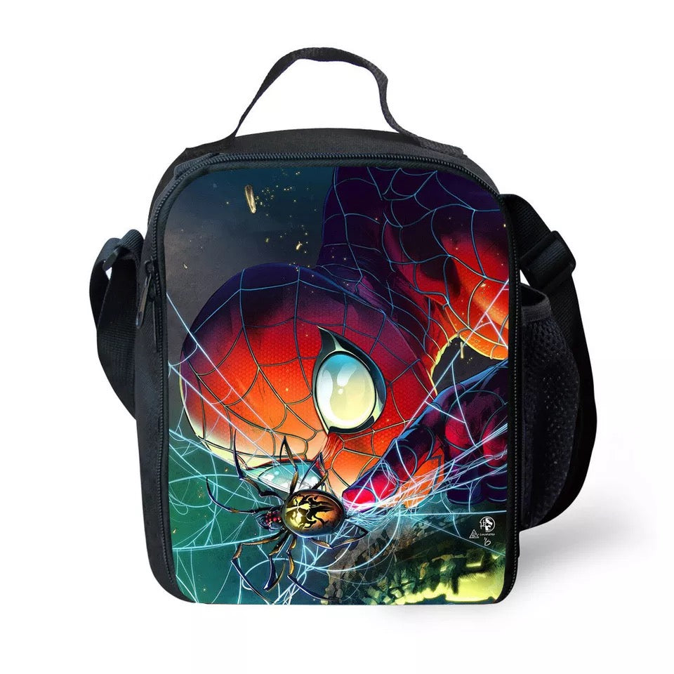 Spider-Man Far From Home Insulated Lunch Bag for Boy Kids Thermos Cooler Adults Tote Food Lunch Box