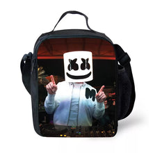 Load image into Gallery viewer, Fortnite Marshmello DJ Party  Insulated Lunch Bag for Boy Kids Thermos Cooler Adults Tote Food Lunch Box