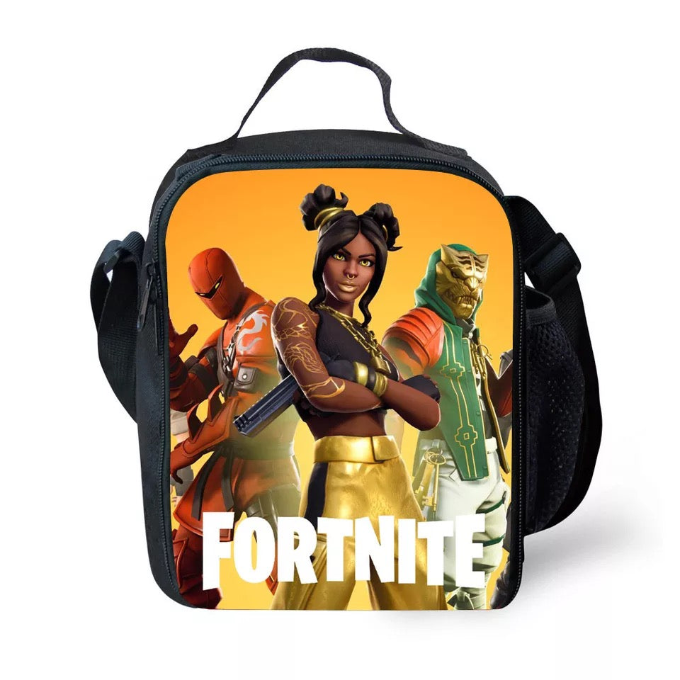 Fortnite Season 8 Hybrid Insulated Lunch Bag for Boy Kids Thermos Cooler Adults Tote Food Lunch Box
