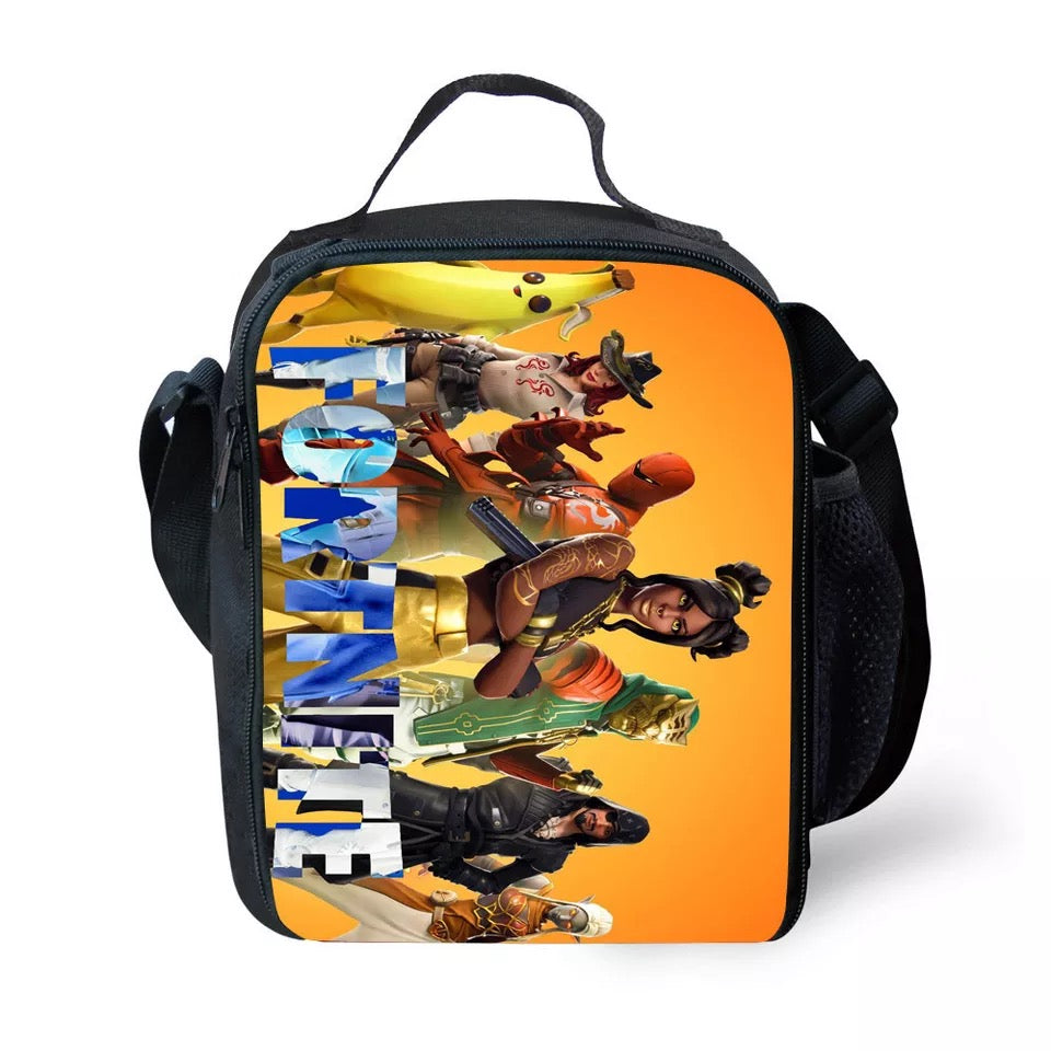 Fortnite Season 8 Lux Insulated Lunch Bag for Boy Kids Thermos Cooler Adults Tote Food Lunch Box