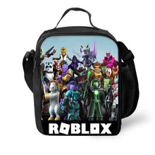Load image into Gallery viewer, Roblox Insulated Lunch Bag for Boy Kids Thermos Cooler Adults Tote Food Lunch Box