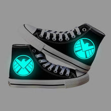 Load image into Gallery viewer, Avengers Agents of Shield S.H.I.E.L.D. High Tops Casual Canvas Shoes Unisex Sneakers For Kids