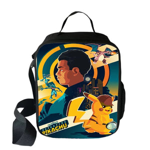 459371d7a8f3 Pokemon Detective Pikachu Insulated Lunch Bag for Boy Kids Thermos Cooler  Adults Tote Food Lunch Box