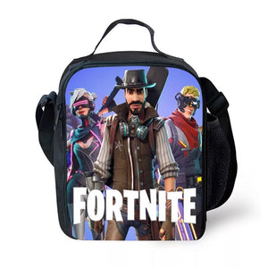 Fortnite Season 9 Lunch Box Insulated Lunch Bag for Boy Kids Thermos Cooler Adults Tote 03
