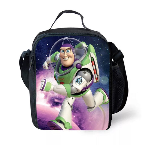 Toy Story 4 Buzz Lightyear Woody #7 Lunch Box Bag Lunch Tote For Kids
