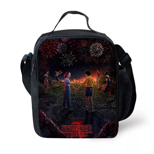 Stranger Things #1 Lunch Box Bag Lunch Tote For Kids