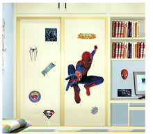 Load image into Gallery viewer, Spider-Man Wall Decor Peel & Bedroom Stick Poster Decals