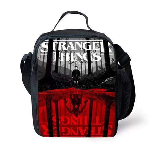 Stranger Things #8 Lunch Box Bag Lunch Tote For Kids