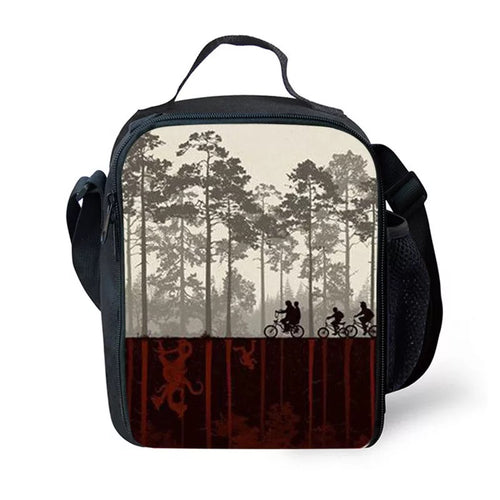 Stranger Things #10 Lunch Box Bag Lunch Tote For Kids