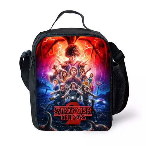 Stranger Things #12 Lunch Box Bag Lunch Tote For Kids