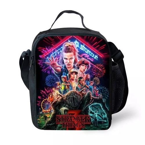 Stranger Things #14 Lunch Box Bag Lunch Tote For Kids