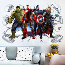 Load image into Gallery viewer, Marvel Avengers Endgame Wall Decor Peel & Bedroom Stick Poster Decals