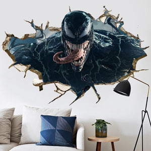 Venom Wall Decor Peel & Bedroom Stick Poster Decals