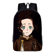 Load image into Gallery viewer, Anime Black Cover Backpack School Sports Bag 8