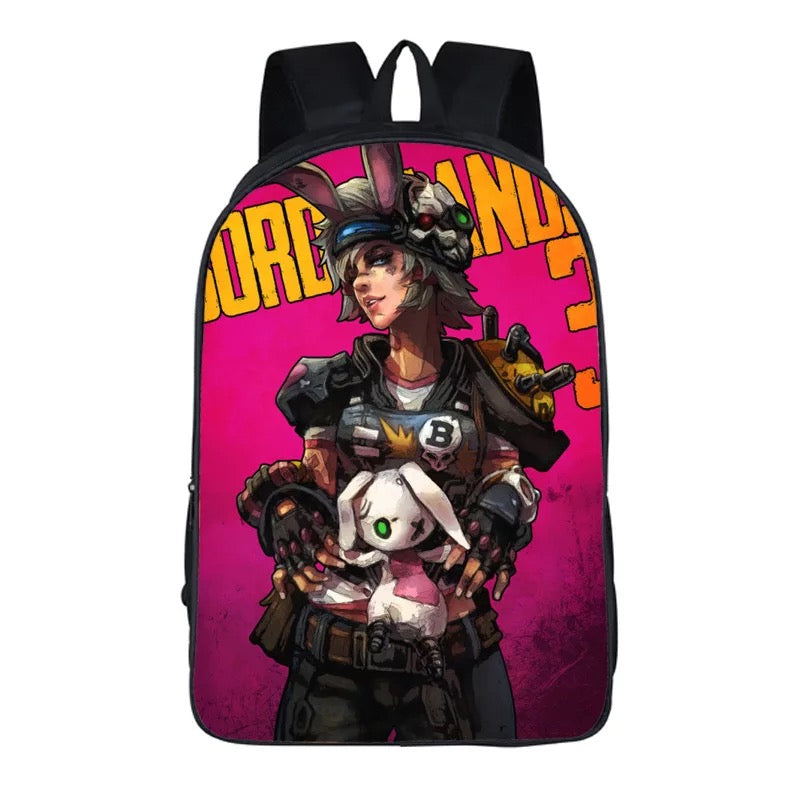 Game Borderlands 3 Backpack School Sports Bag