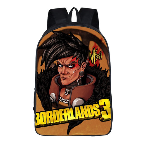 Game Borderlands 3 Backpack School Sports Bag 8