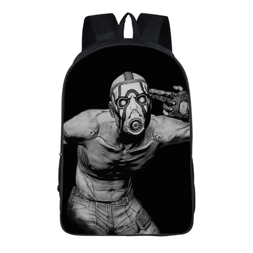 Game Borderlands 3 Backpack School Sports Bag 10