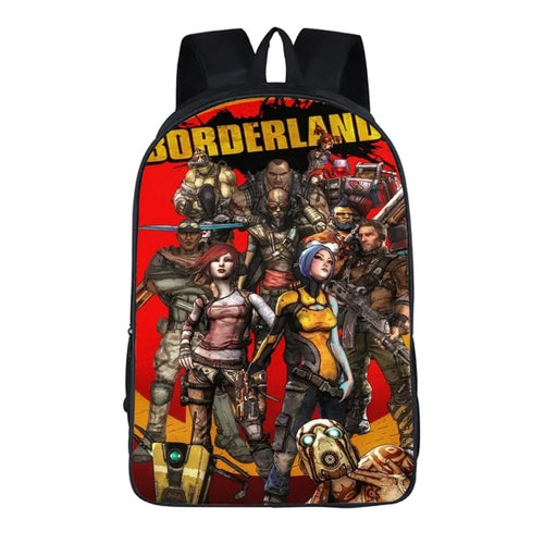 Game Borderlands 3 Backpack School Sports Bag 11