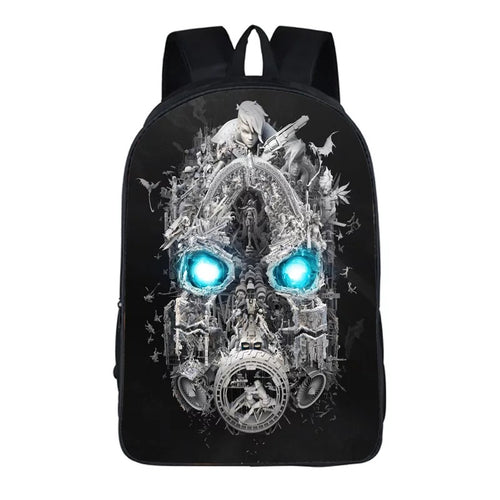 Game Borderlands 3 Backpack School Sports Bag 20