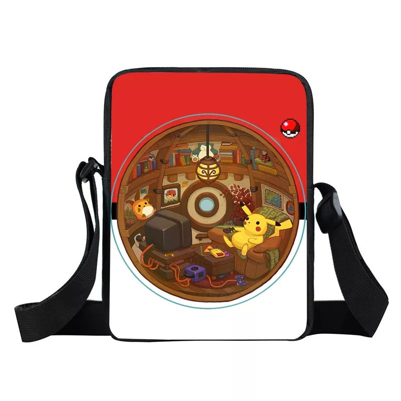 Pokemon Monster Ball Lunch Box Bag Lunch Tote