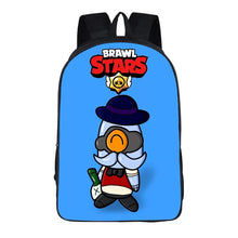 "Load image into Gallery viewer, Game Brawl Stars Backpack 16"" School Sports Bag"