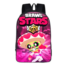 "Load image into Gallery viewer, Game Brawl Stars Poco Backpack 16"" School Sports Bag"
