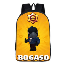 "Load image into Gallery viewer, Game Brawl Stars Bogaso Backpack 16"" School Sports Bag"
